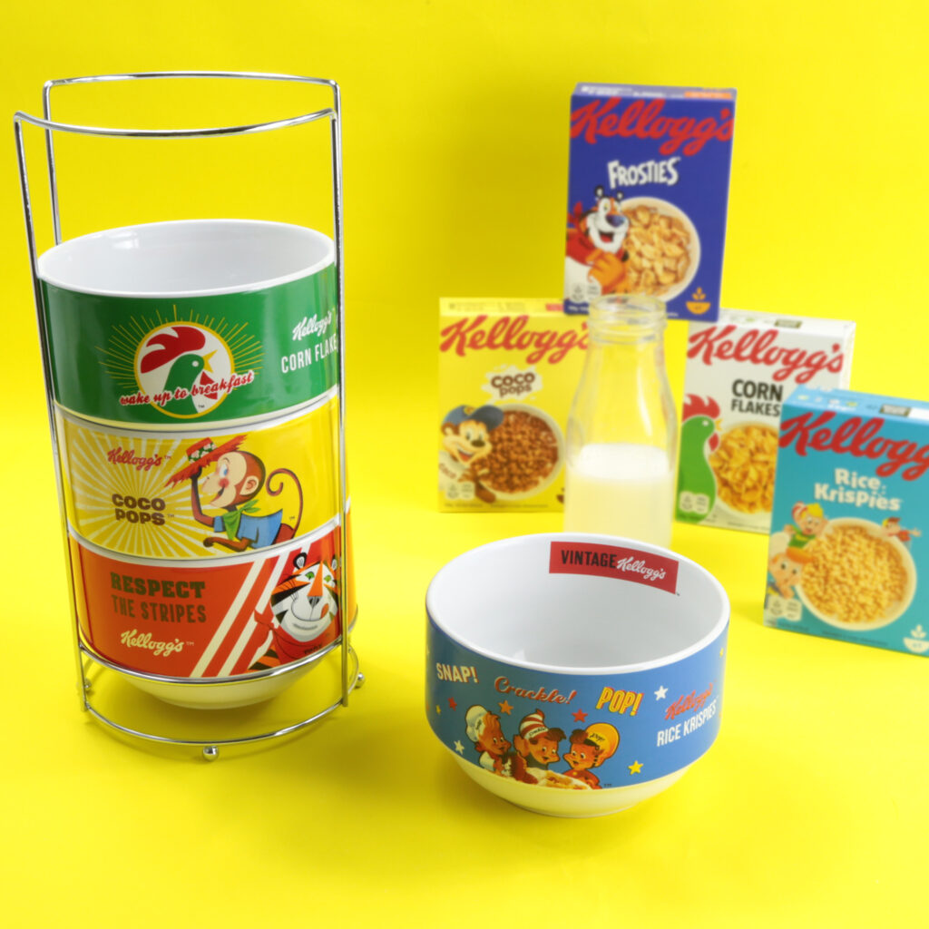 4 Stacked Bowl Set from Kellogs